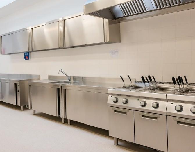 Iluminación de Cocinas y Campanas Industriales