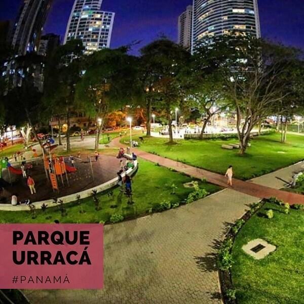 Iluminación Plazas y Parques Panamá